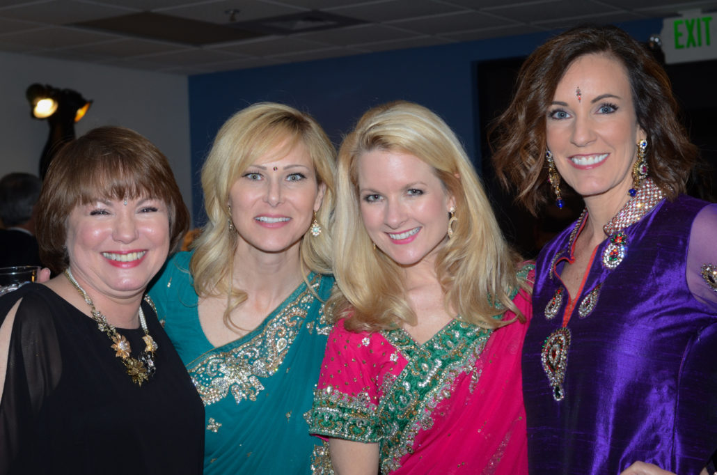 Attendees pose for a photo at A Passage to India, Self Regional Healthcare Foundation Midwinter Ball 2015.