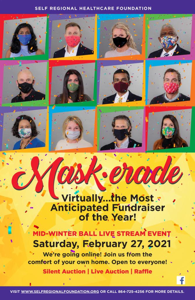 Mask-erade Event information: February 27, 2021